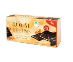 Royal Thins Karamel 200g
