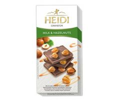Heidi Grand' Or Milk Whole Hazelnut 100g