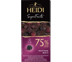Heidi DARK 75% Blackberry 65g