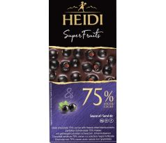 Heidi DARK 75% Blackcurrant 65g