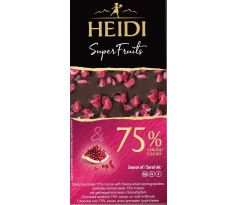 Heidi DARK 75% Pomegranate 65g